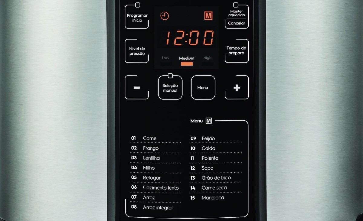 dce239397 Panela De Pressão Elétrica Electrolux 6 Litros Pcc20 - 110v - R  489 ...