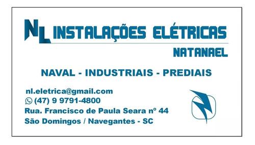 elétrica industrial e naval