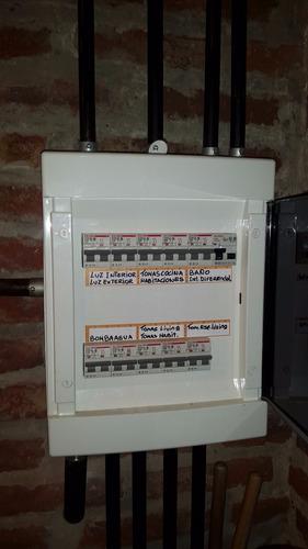 eletricista matriculado toda zona sur y c.a.b.a.