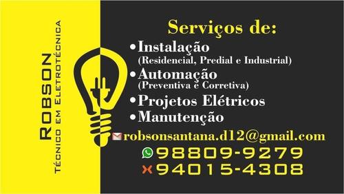 eletricista residência predial e industrial  e instalações