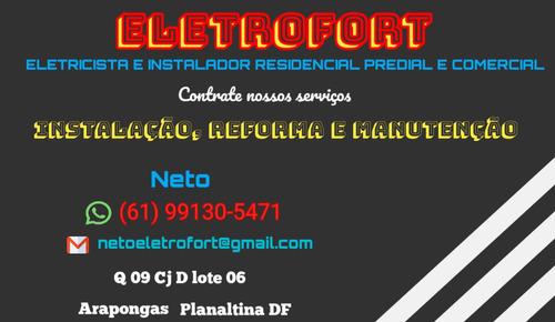 eletricista residêncial, predial e comercial