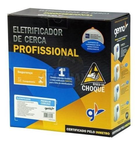 eletrificador de cerca elétrica e alarme impacto genno