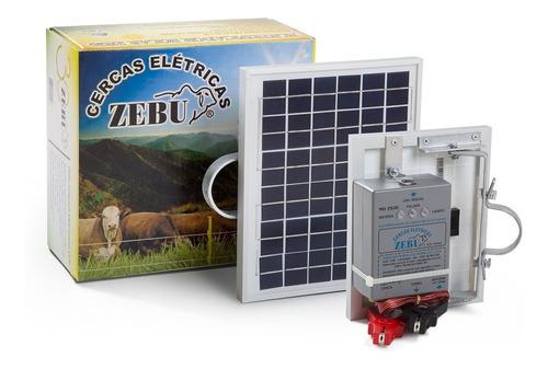 eletrificador solar de cerca elétrica rural zs20 2.100m zebu