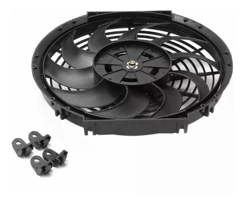 eletro ventilador ventoinha elétrica 12 polegadas 12v 80w
