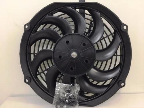 eletro ventilador ventoinha universal 9 polegadas pás  s
