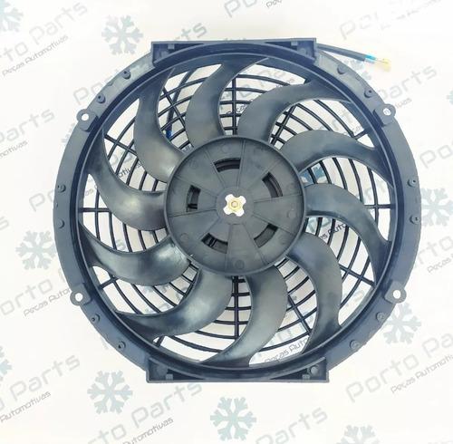 eletro ventoinha universal 12 polegadas 80w 12v