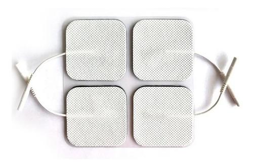 eletrodo adesivo 5x5 cm aleph electrodes - fisioterapia tens