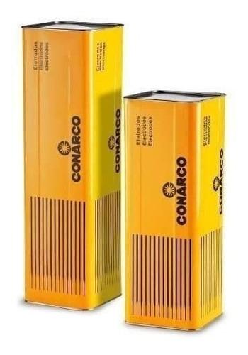 eletrodo esab a10 4,0mm e 6010 lata com 18kg 306666 conarco
