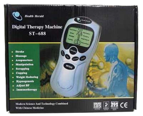 eletroestimulador fisioterapia tens & fez acupuntura bivolt