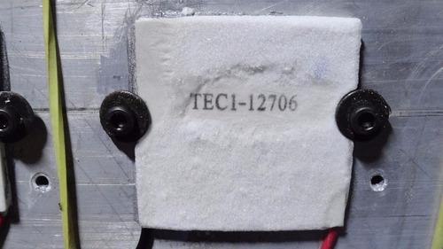 eletrolux! pastilha peltier tec1 12706 - nova - buga005