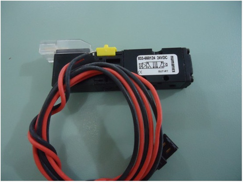 eletrovalvula pneumática 833-650124 24 vdc