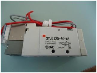 eletrovalvula pneumática syj5120-6g-m5