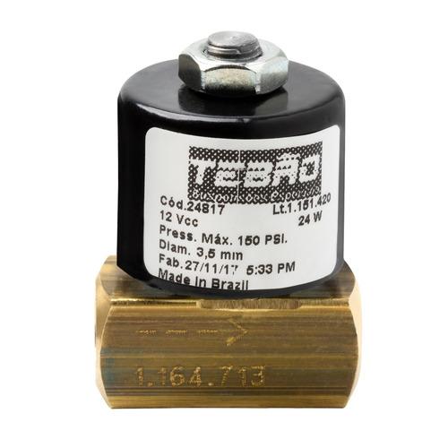 eletroválvula válvula solenóide 8mm kit suspensão a ar