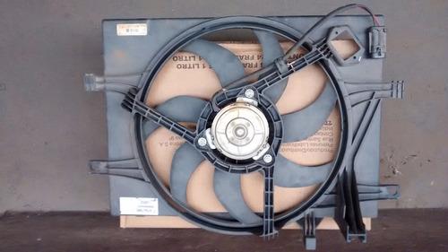 eletroventilador + defletor rad palio 04/ com ar usado !!!
