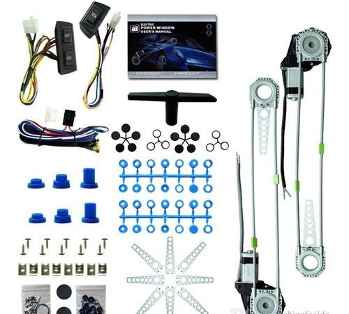 eleva vidrios eléctricos 2v kit motor carro garantia 1 año!