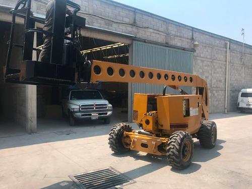 elevador articulado grove 50 pies de altura motor diesel