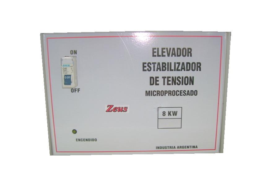ad0a27493 Elevador Automatico De Tension 12 Kw. 140 -240v Zeus, - $ 5.900,00 ...