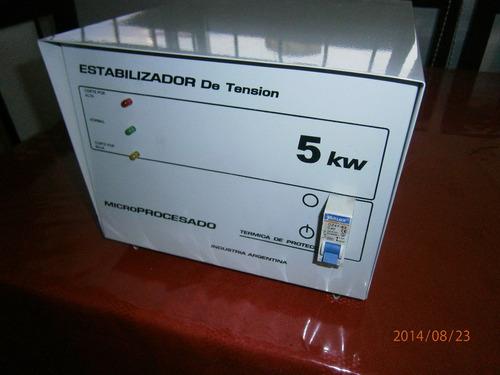 elevador automatico de tension 8 kw corte por alta y baja