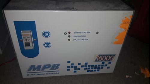 elevador automatico de tension casa 16000 kw..