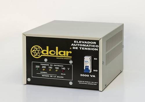 elevador automático tensión 3 kva dolar estabilizador r 140v