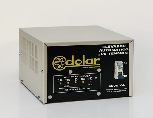 elevador automático tensión 4 kva dolar estabilizador r 140v