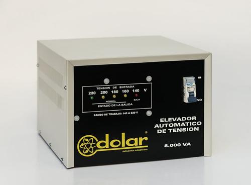 elevador automático tensión 8 kva dolar estabilizador r 140v