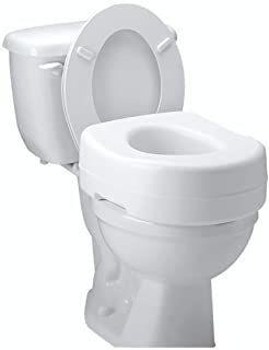 elevador de asiento de inodoro carex: agrega 5 pulgadas de a
