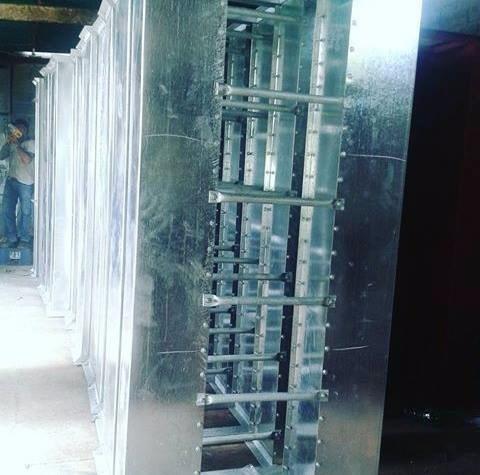 elevador de cangilos plantas industriales y agroindustriales