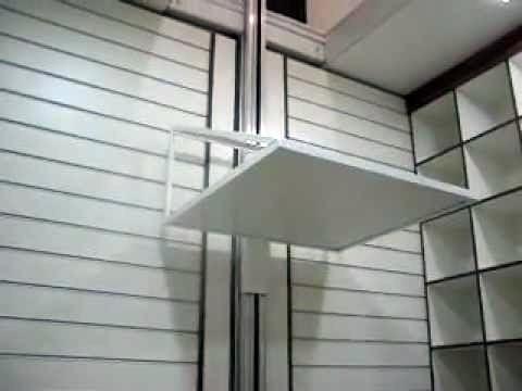elevador de carga rossi 4,50mts 80kgs fast 220v monta carga
