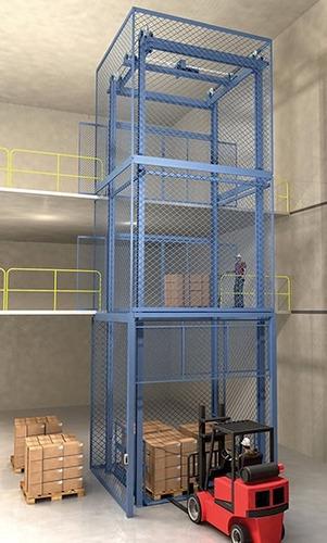 elevador de carga,montacargas,polipasto,elevador industrial