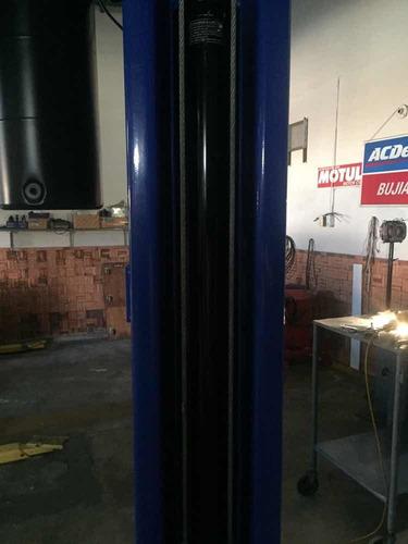 elevador de carro de dos columna