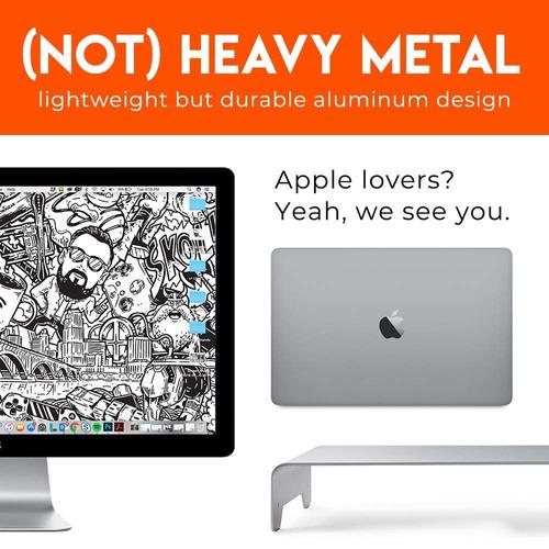 elevador de monitores de aluminio: el moderno diseño un...