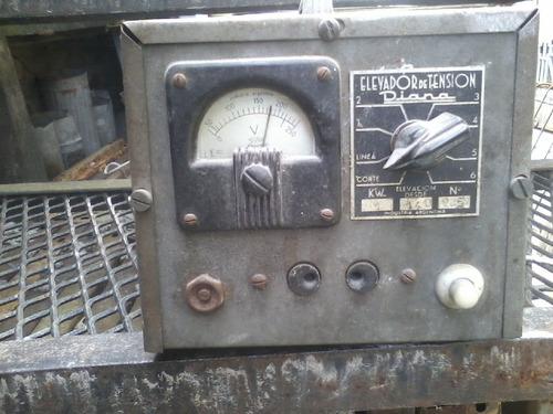 elevador de tension 1955