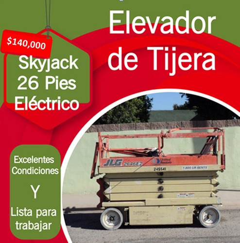 elevador de tijera