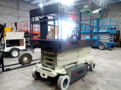 elevador de tijera terex ts26 eléctrico recién importado