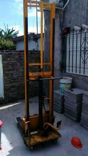 elevador hidráulica manual