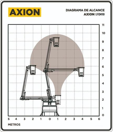 elevador hidráulico axion ur3410 hidroelevador