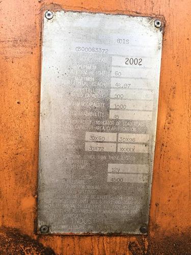 elevador jlg model 601s 18 mts.