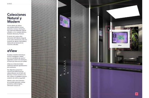 elevador marca otis, capacidad para 6 personas, 4 niveles
