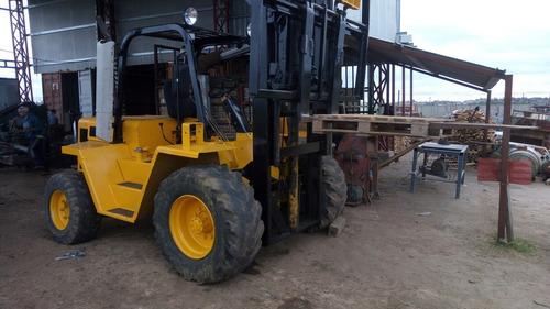elevador montacarga caterpillar r80  1998   6500 kil
