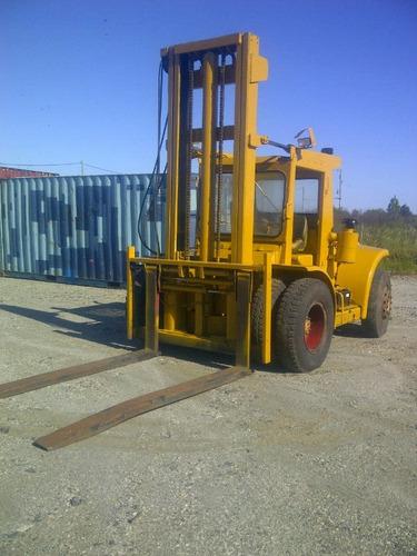 elevador montacargas hyster h150e 7.5 toneladas descuena iva