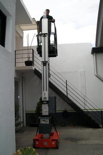 elevador personal jlg mod. 12sp como nuevo