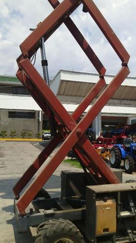 elevador / plataforma de tijera hidráulica de motor gasolina