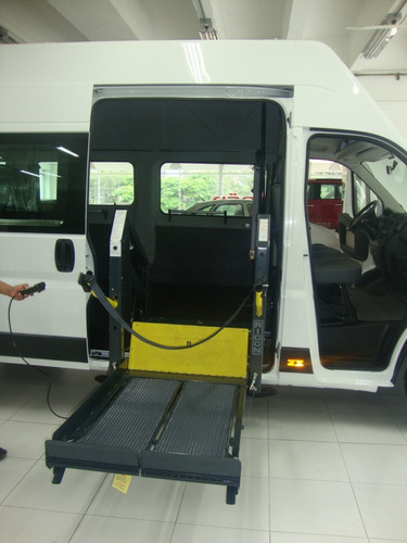 elevador silla de ruedas para vehiculo