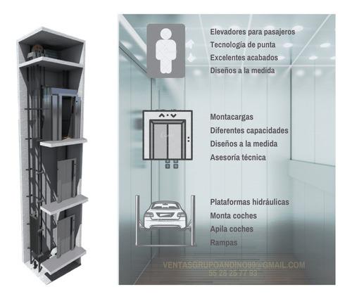 elevadores hidraulicos para casa, monta cargas y apila autos