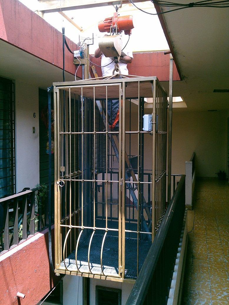 Elevadores montacargas 75 en mercado libre for Materiales para hacer un ascensor