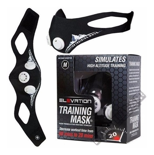 elevation training mask 2.0 - mascara de entrenamiento