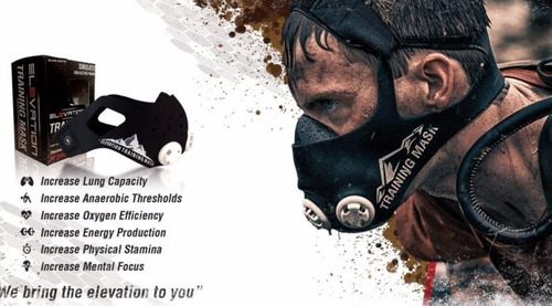 elevation training mask 2.0 - mascara de entrenamiento