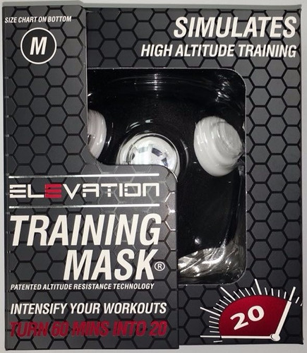 elevation training mask 2.0 mascara elevacion crossfit envio