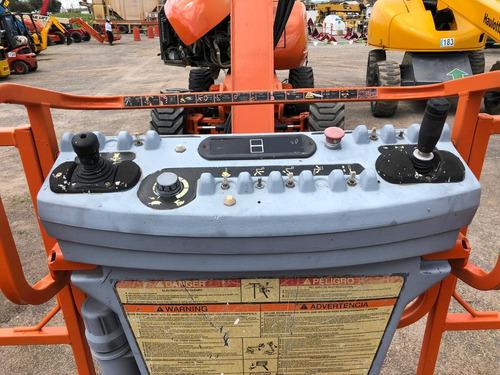 elevedor de personas jlg 800a 4x4 80 ft 24 mts gasolina